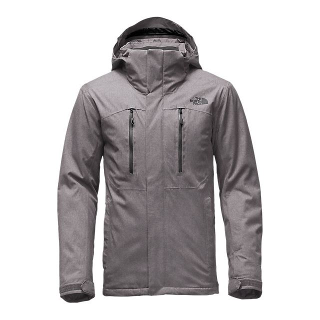 Discount NORTH FACE MEN\'S POWDANCE JACKET ZINC GREY HEATHER ONLINE