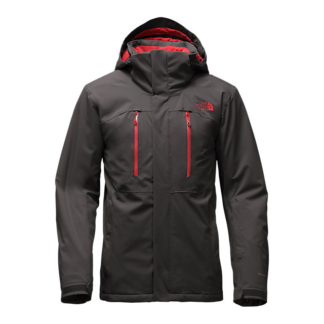 Discount NORTH FACE MEN'S POWDANCE JACKET ASPHALT GREY ONLINE