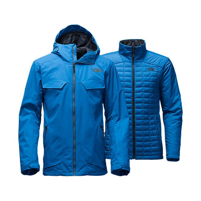 Discount NORTH FACE MEN\'S INITIATOR THERMOBALL TRICLIMATE JACKET BOMBER BLUE ONLINE