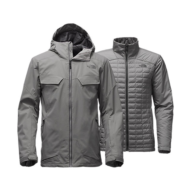 Discount NORTH FACE MEN\'S INITIATOR THERMOBALL TRICLIMATE JACKET ZINC GREY ONLINE
