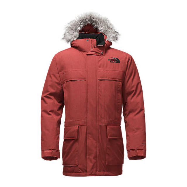 Discount NORTH FACE MEN'S MCMURDO PARKA II CARDINAL RED HEATHER ONLINE