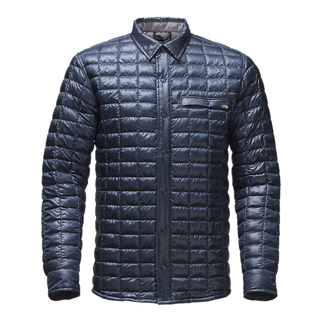 Discount NORTH FACE MEN'S REYES THERMOBALL SHIRT JACKET URBAN NAVY ONLINE