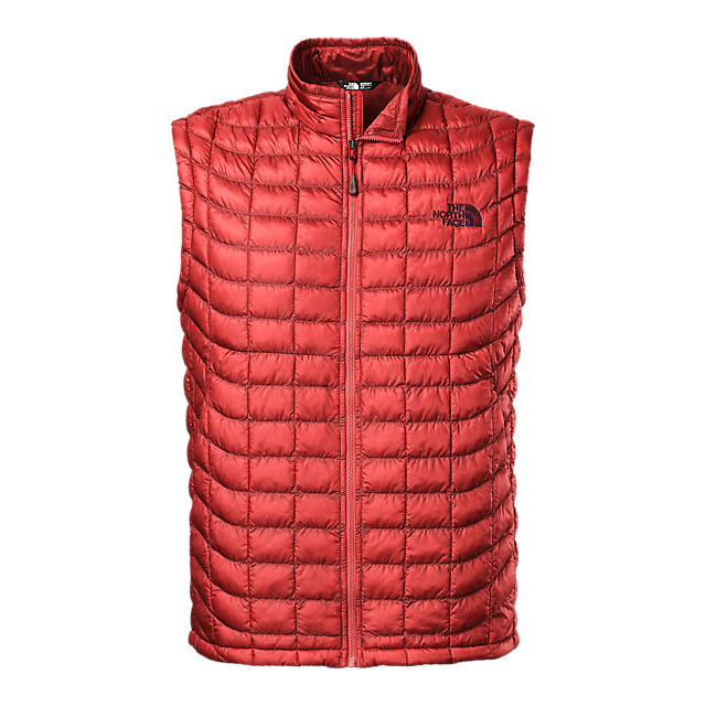 Discount NORTH FACE MEN'S THERMOBALL VEST CARDINAL RED ONLINE