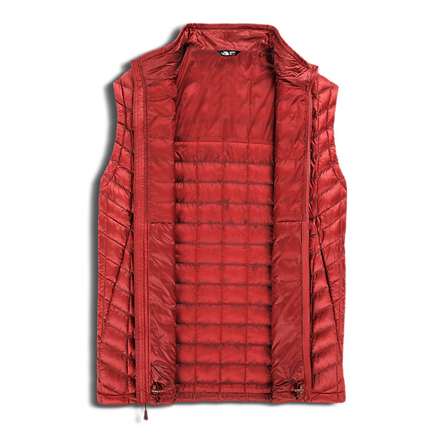 Discount NORTH FACE MEN\'S THERMOBALL VEST CARDINAL RED ONLINE