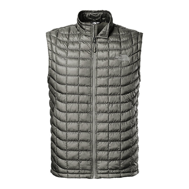Discount NORTH FACE MEN'S THERMOBALL VEST FUSEBOX GREY ONLINE