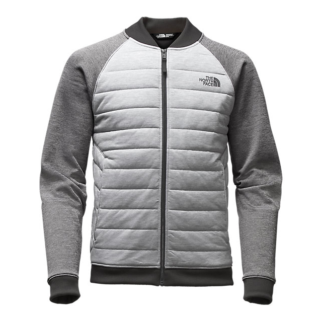 Discount NORTH FACE MEN'S NORRIS POINT INSULATED FULL ZIP LIGHT GREY HEATHER/MEDIUM GREY HEATHER ONLINE
