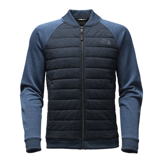 Discount NORTH FACE MEN\'S NORRIS POINT INSULATED FULL ZIP URBAN NAVY HEATHER/SHADY BLUE HEATHER ONLINE