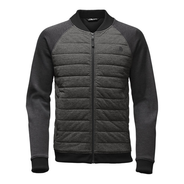 Discount NORTH FACE MEN'S NORRIS POINT INSULATED FULL ZIP DARK GREY HEATHER/BLACK HEATHER ONLINE