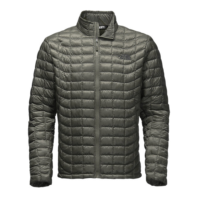 Discount NORTH FACE MEN'S THERMOBALL FULL ZIP JACKET FUSEBOX GREY ONLINE