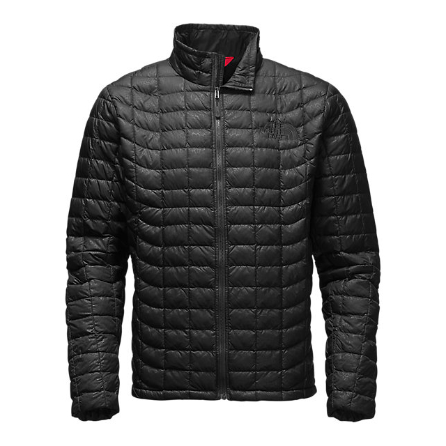 Discount NORTH FACE MEN\'S THERMOBALL FULL ZIP JACKET BLACK CROC EMBOSS ONLINE