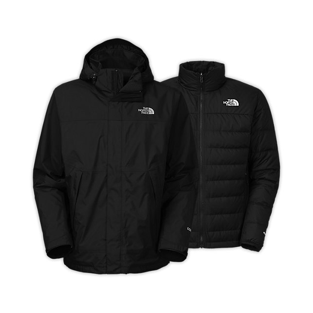 Discount NORTH FACE MEN'S MOUNTAIN LIGHT TRICLIMATE JACKET BLACK ONLINE