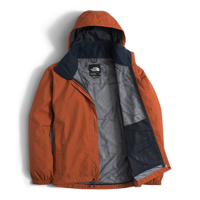 Discount NORTH FACE MEN\'S RESOLVE JACKET GINGERBREAD BROWN ONLINE