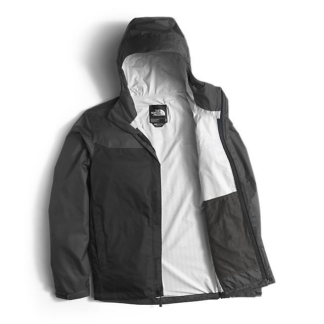 Discount NORTH FACE MEN\'S VENTURE JACKET BLACK / ASPHALT GREY ONLINE