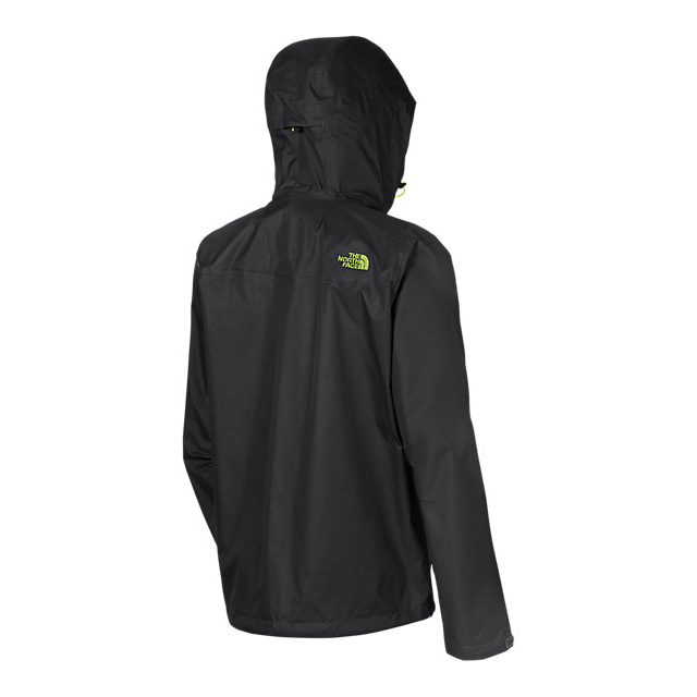 Discount NORTH FACE MEN\'S VENTURE JACKET BLACK/MACAW GREEN ONLINE