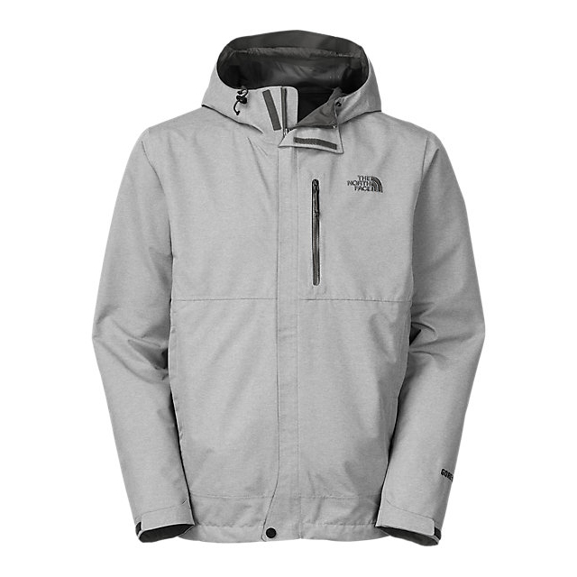 Discount NORTH FACE MEN'S DRYZZLE JACKET HIGH RISE GREY HEATHER / ASPHALT GREY ONLINE
