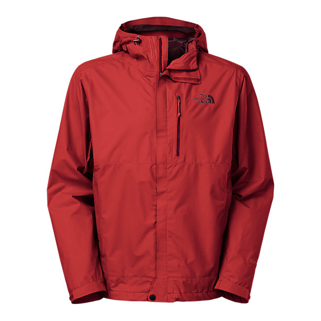 Discount NORTH FACE MEN'S DRYZZLE JACKET CARDINAL RED ONLINE