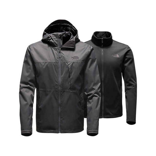 Discount NORTH FACE MEN'S ARROWOOD TRICLIMATE JACKET ASPHALT GREY ONLINE