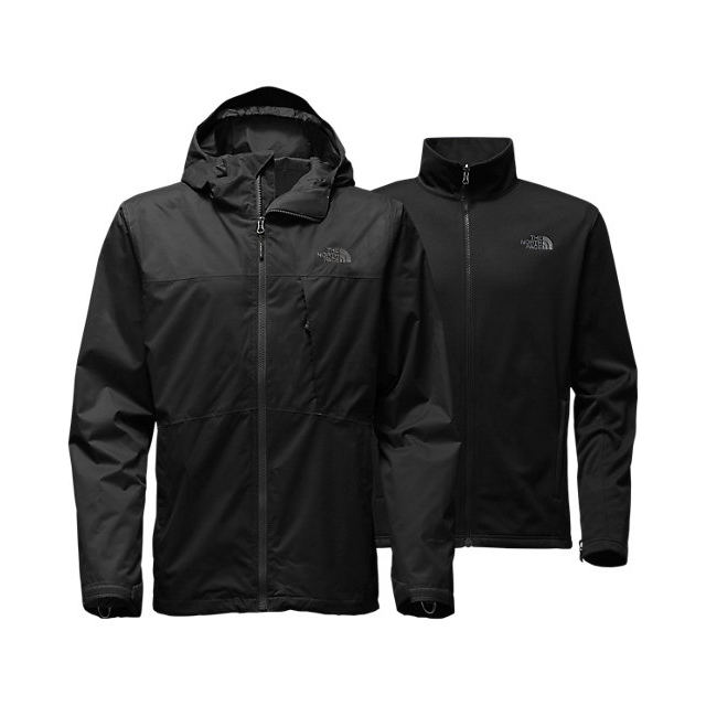 Discount NORTH FACE MEN'S ARROWOOD TRICLIMATE JACKET BLACK ONLINE