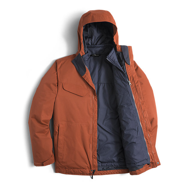 Discount NORTH FACE MEN\'S BESWICK TRICLIMATE JACKET GINGERBREAD BROWN/GINGERBREAD BROWN ONLINE