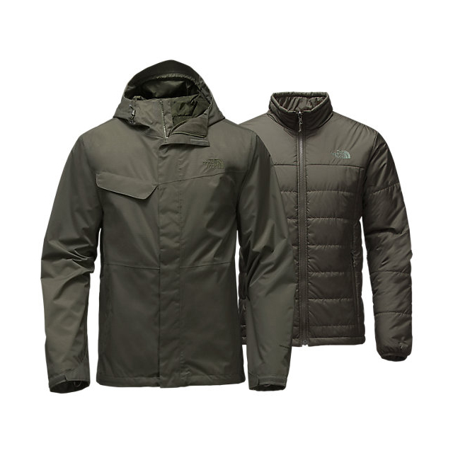 Discount NORTH FACE MEN'S BESWICK TRICLIMATE JACKET CLIMBING IVY GREEN/CLIMBING IVY GREEN ONLINE
