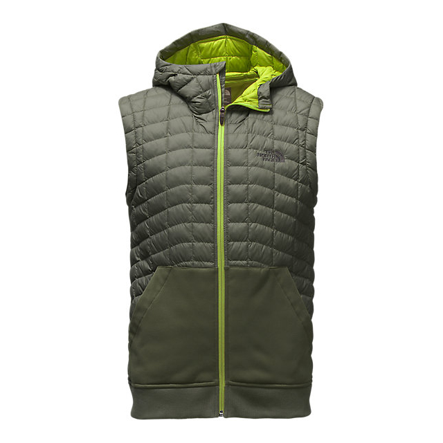 Discount NORTH FACE MEN'S KILOWATT THERMOBALL  VEST CLMBING IVY GREEN/CHIVE GREEN ONLINE