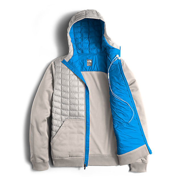 Discount NORTH FACE MEN\'S KILOWATT THERMOBALL  JACKET HIGH RISE GREY/BLUE ASTER ONLINE