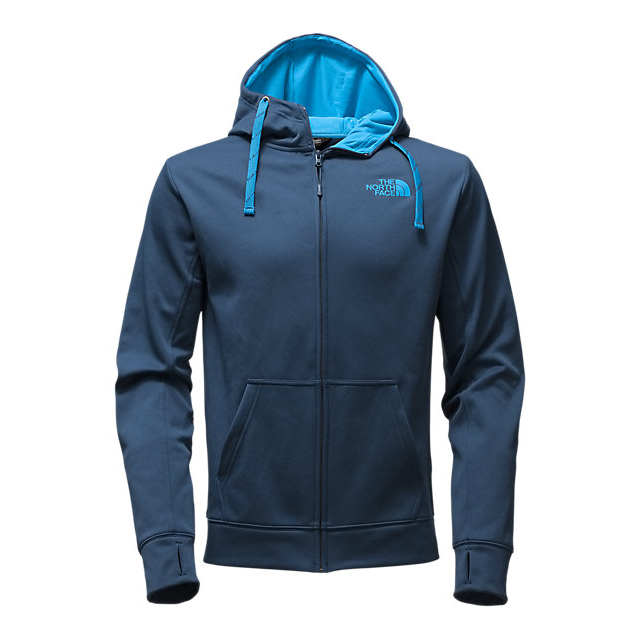 Discount NORTH FACE MEN\'S SURGENT LFC FULL ZIP HOODIE SHADY BLUE/BLUE ASTER ONLINE