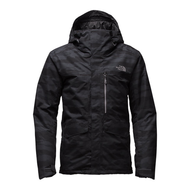 Discount NORTH FACE MEN'S GATEKEEPER JACKET BLACK PILLOW CAMO JACQUARD PRINT/BLACK ONLINE
