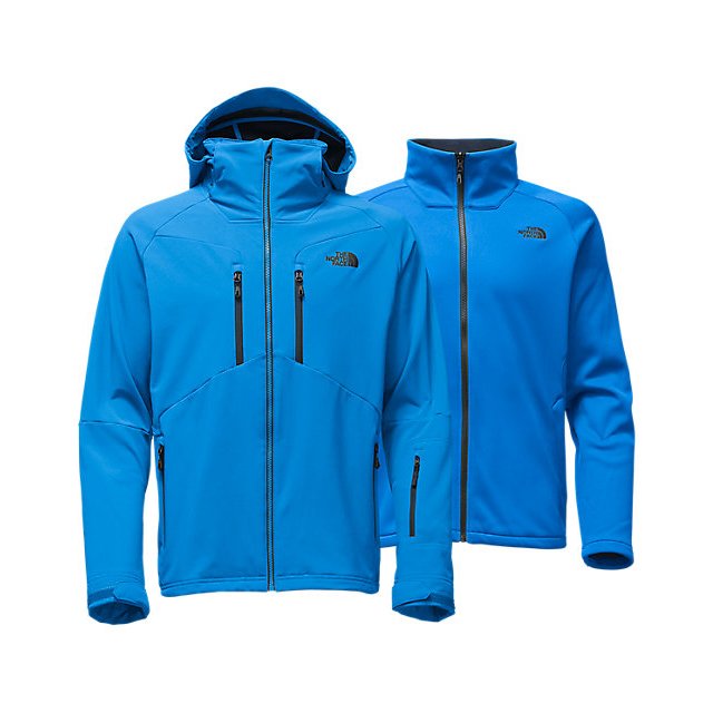 Discount NORTH FACE MEN'S APEX STORM PEAK TRICLIMATE JACKET BOMBER BLUE ONLINE