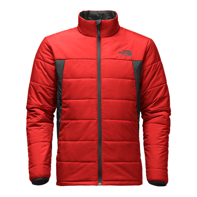 Discount NORTH FACE MEN'S BOMBAY JACKET FIERY RED / ASPHALT GREY ONLINE