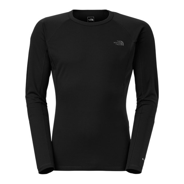 Discount NORTH FACE MEN\'S LIGHT LONG-SLEEVE CREW NECK BLACK ONLINE