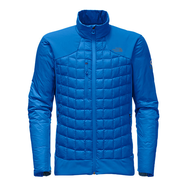 Discount NORTH FACE MEN'S DESOLATION THERMOBALL  JACKET BOMBER BLUE ONLINE