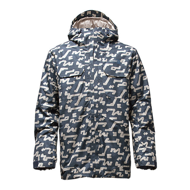 Discount NORTH FACE MEN\'S BROGODA INSULATED JACKET SHADY BLUE BUELLER PRINT ONLINE