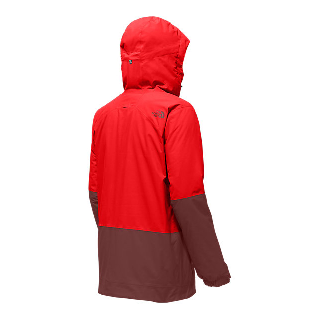 Discount NORTH FACE MEN\'S BROGODA INSULATED JACKET FIERY RED/HOT CHOCOLATE BROWN ONLINE