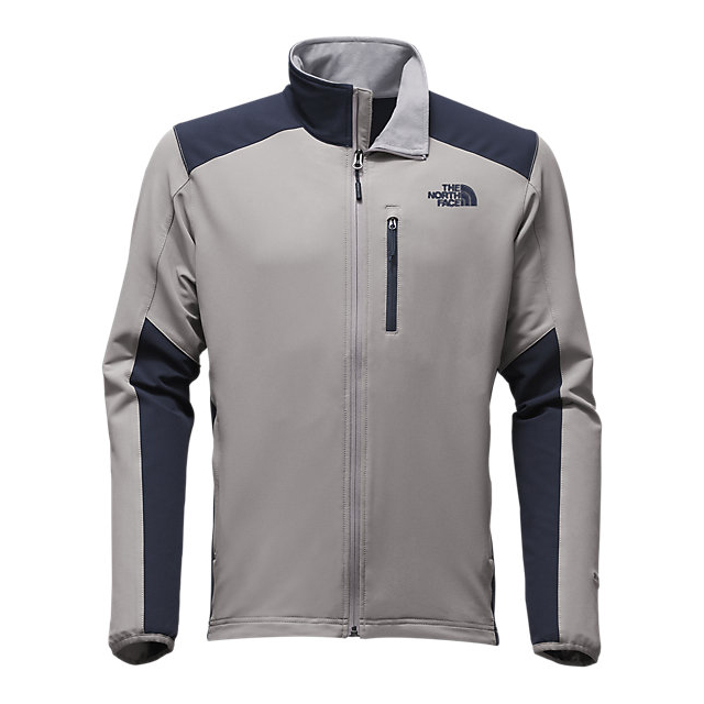 Discount NORTH FACE MEN'S APEX PNEUMATIC JACKET MID GREY/URBAN NAVY ONLINE