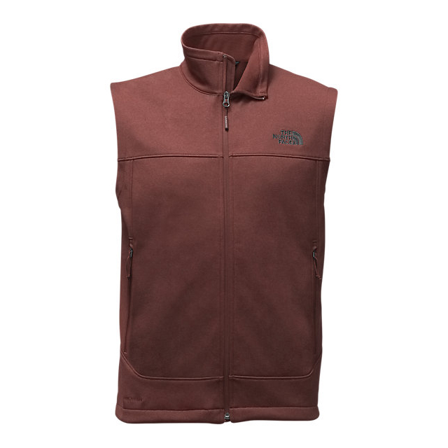 Discount NORTH FACE MEN'S CANYONWALL VEST SEQUOIA RED HEATHER/SEQUOIA RED HEATHER ONLINE