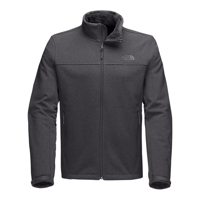 Discount NORTH FACE MEN'S APEX CHROMIUM THERMAL JACKET ASPHALT GREY TWITCH EMBOSS ONLINE