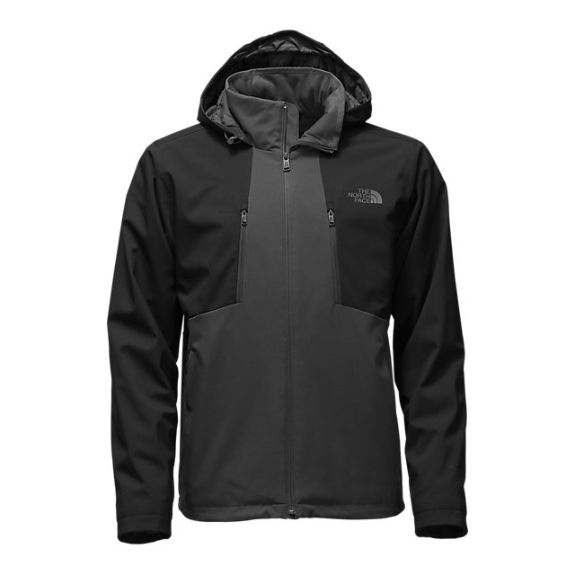 Discount NORTH FACE MEN\'S APEX ELEVATION JACKET ASPHALT GREY / BLACK ONLINE