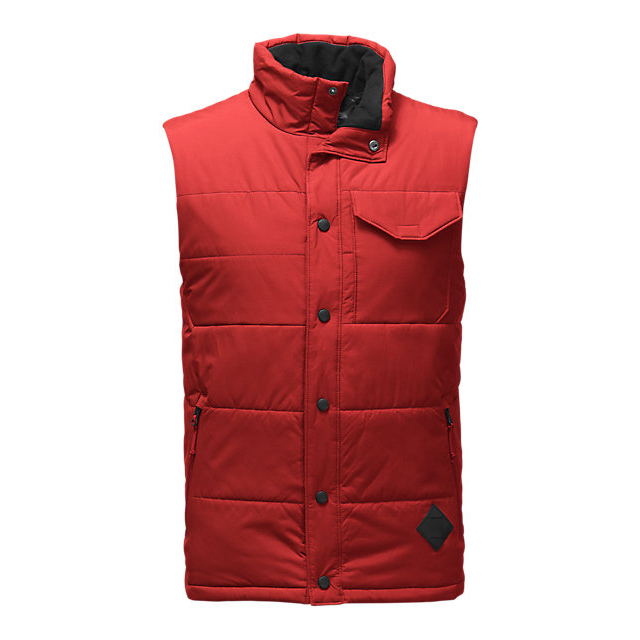 Discount NORTH FACE MEN'S PATRICKS POINT VEST CARDINAL RED ONLINE