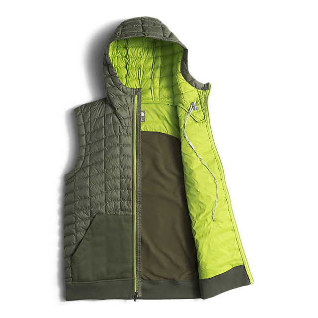 Discount NORTH FACE MEN\'S KILOWATT THERMOBALL™ VEST CLMBING IVY GREEN/CHIVE GREEN ONLINE