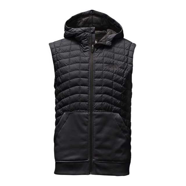 Discount NORTH FACE MEN'S KILOWATT THERMOBALL™ VEST BLACK / ASPHALT GREY ONLINE