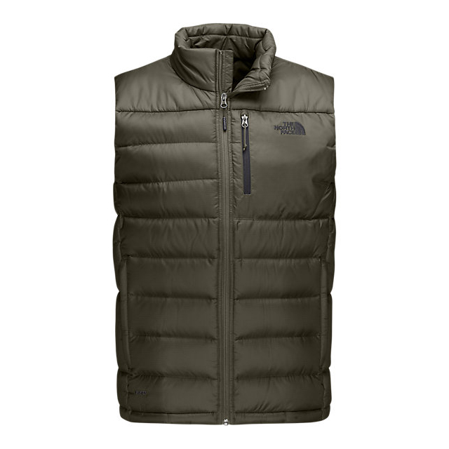 Discount NORTH FACE MEN'S ACONCAGUA VEST FUSEBOX GREY ONLINE