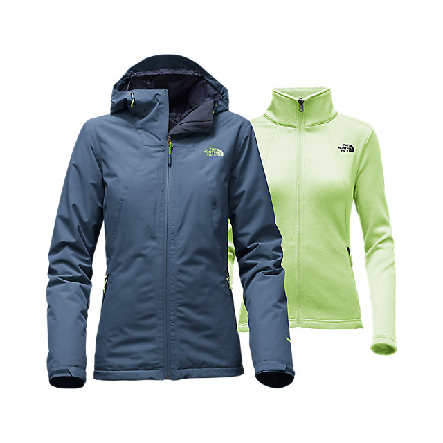 Discount NORTH FACE WOMEN'S HIGHANDDRY TRICLIMATE  JACKET SHADY BLUE ONLINE