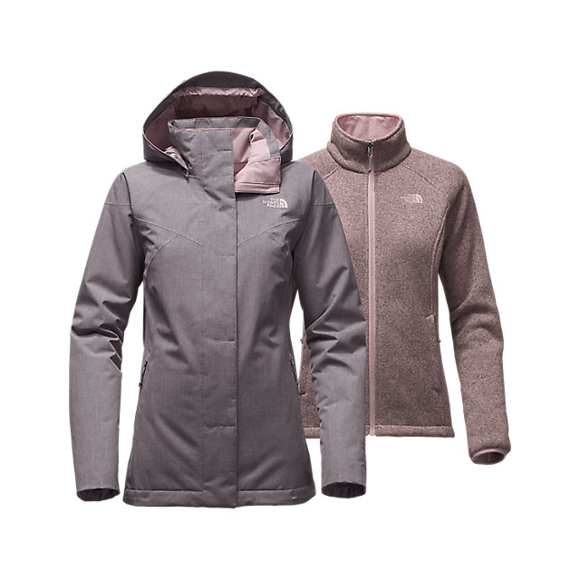 Discount NORTH FACE WOMEN\'S KALISPELL TRICLIMATE  JACKET RABBIT GREY HEATHER ONLINE