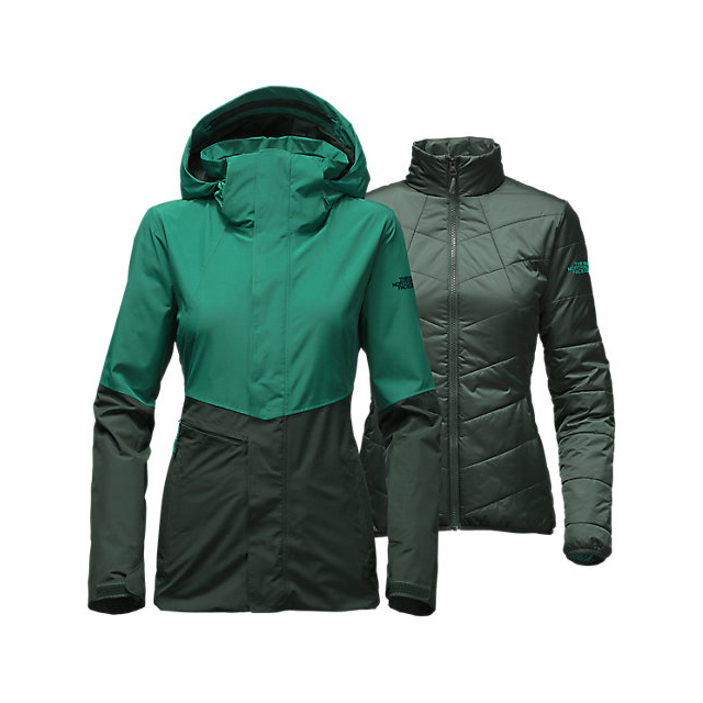 Discount NORTH FACE WOMEN\'S GARNER TRICLIMATE  JACKET CONIFER TEAL/DARKEST SPRUCE ONLINE