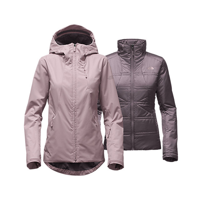Discount NORTH FACE WOMEN'S CLEMENTINE TRICLIMATE  JACKET QUAIL GREY ONLINE