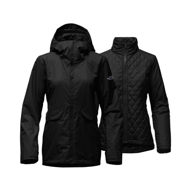 Discount NORTH FACE WOMEN\'S INITIATOR THERMOBALL  TRICLIMATE  JACKET BLACK ONLINE