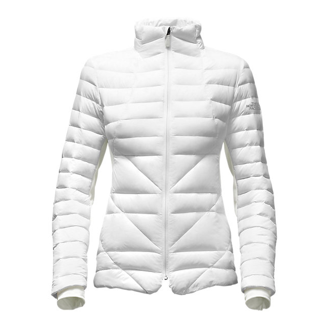 Discount NORTH FACE WOMEN'S LUCIA HYBRID DOWN JACKET WHITE ONLINE