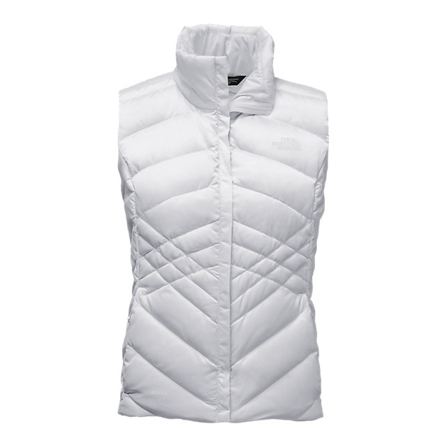 Discount NORTH FACE WOMEN'S ACONCAGUA VEST WHITE ONLINE