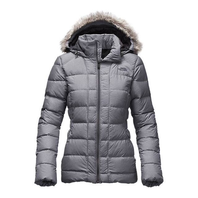 Discount NORTH FACE WOMEN'S GOTHAM DOWN JACKET MEDIUM GREY HEATHER ONLINE